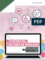 Directiva Uso de Lenguaje Inclusivo en La PNP