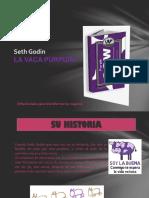 Diapositiva de La Vaca Purpura