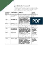 support file for elcc standard 7