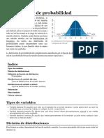 Distribución de Probabilidad - Wikipedia, La Enciclopedia Libre