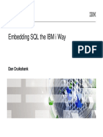 Embedded SQL the IBM i Way