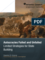 Autocracies Failed and Unfailed