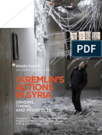 The Kremlin's Actions in Syria