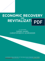 Economic Recovery and Revitalization