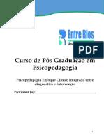 Psicopedagogia Enfoque Clinico Integrado entre diagnostico e Intervenção - Psicopedagogia I - Tauá-CE.pdf
