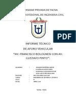 Informe 1 Transito