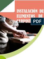 Manual Carpintería