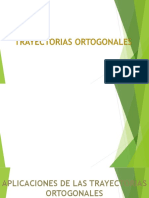 Aplicaciones de Las Trayectorias Ortogonales (1)