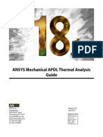 ANSYS Mechanical APDL Thermal Analysis Guide