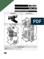 Manual de Ubicacion de Relays y Fusibles t3 Parte 2