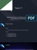 presentation team 7 - andrew