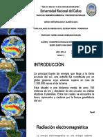 Balance de Energia en El Sistema Tierra y Atmosfera