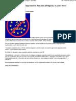 Cehia si Slovacia vor ca, împreuna cu România si Bulgaria, sa poata bloca directivele UE