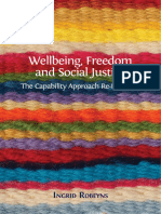 Wellbeing Freedom Social Justice (Robeyns 2017)