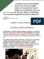 Basescu trimite românii la moarte din loialitate pentru Israel