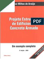 Projeto Estrutural de Edificios de Concreto Armado - Jose Milton de Araujo