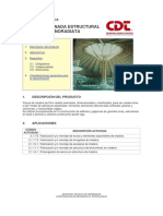 CDT - Madera Laminada Encolada Estructural de Pino Radiata