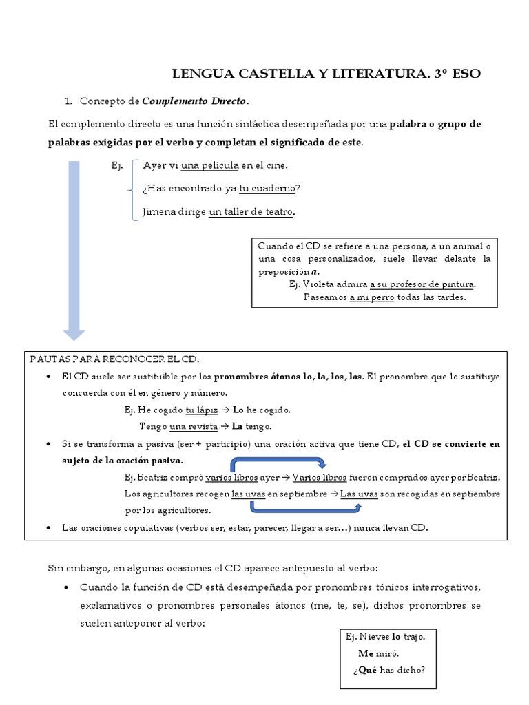 38f6daaf81f2 Lengua Castella y Literatura