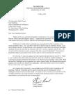 Gina Haspel letter to Mark Warner