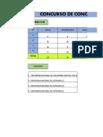 Excel de Puntajes