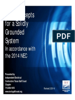 Basic Grounding 2014 NEC for Paper Copies Only