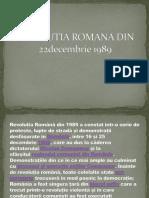 Revolutia Romana Din 22decembrie 1989