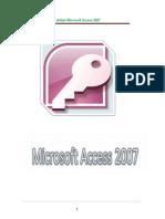 Manual de Apoyo Para Utilizar Microsoft Access 2007
