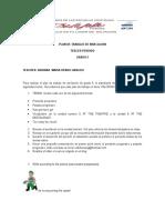 Plan de Trabajo de Nivelacion III Periodo Grado 5