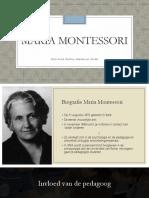 Pp Maria Montessori