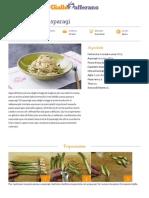 GZRic Pasta Panna e Asparagi