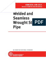 ASME B36 10M 2015 Welded and Seamless Wrought Steel Pipe PDF