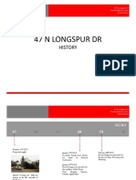 Longspur Dr Package History & Time