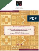 Curso Mecanismos Alternativos de Resolución de Conflictos