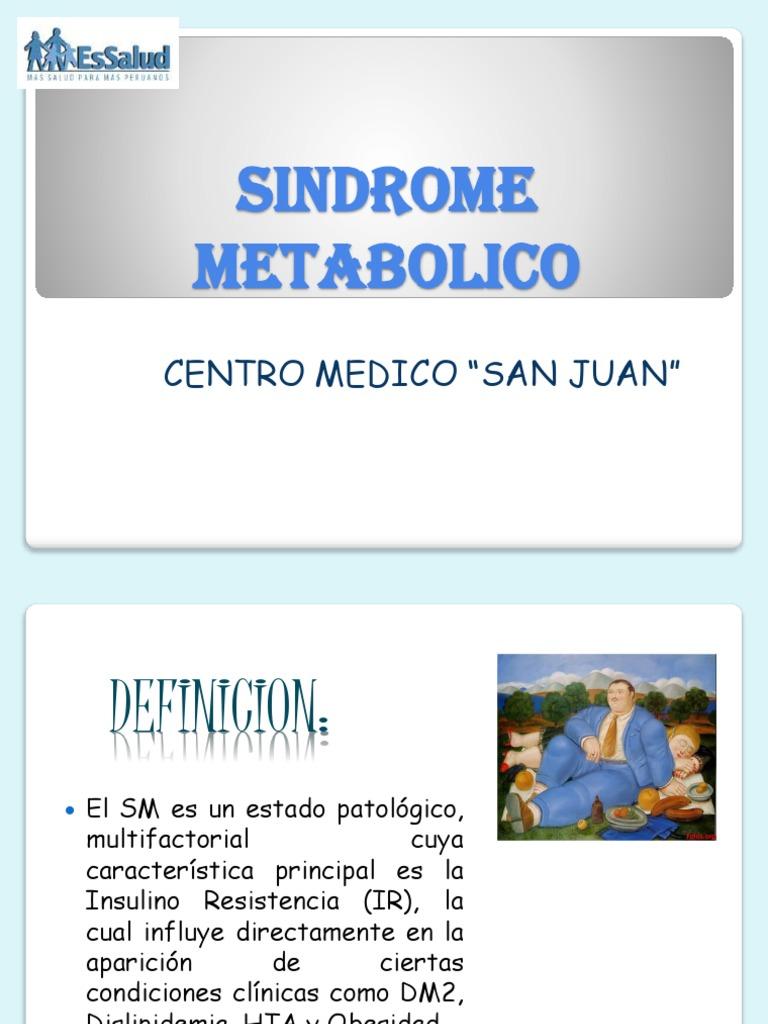 síndrome dismetabólico x tratamiento de la diabetes