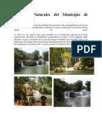 Recursos Naturales Del Municipio de Chahal