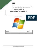 Lab 03 - Fundamentos de Matlab