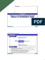 t 13 Product Process Design