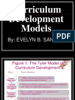 Curriculum DEVELOPMENT Models