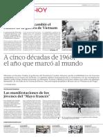 A Cinco Décadas de 1968