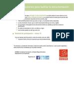 Instrucciones Documentos