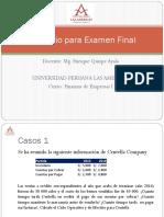 Balotario Para Examen Final