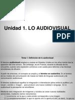 Primera Clase Semiotica de Lo Audiovisual