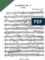 4. Brahms Johannes - Symphony 3, Oboe 2