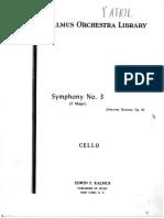 22. Brahms Johannes - Symphony 3, Viola