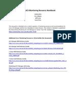Cisco UCS Monitoring Resource Handbook