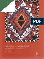 Memoria e Patrimônio - Ensaios Contemporâneos