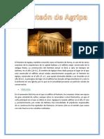 El Panteón de Agripa-Tarea de Materiales de Construccion