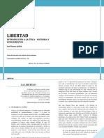 001 - PDF - LIBERTAD - Introducción a La Ética - José Ramón Ayllón