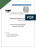 Plan de Desarrollo Municipal de Carácuaro 2015.2018