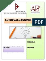 Autoevaluciones Estudios